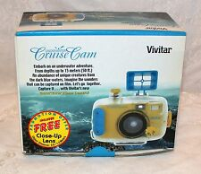 VIVITAR Cruise Cam Underwater Compact 35mm Film Camera NEW! NOS!