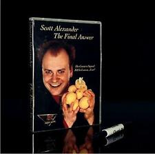 The Final Answer - Bill in Lemon Magic by Scott Alexander,stage magic,close up