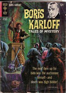Boris Karloff Tales of Mystery Comic Book #12 Gold Key Comics 1965