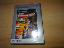 Midnight Club PS2 Nuevo y Sellado Versión Pal