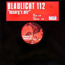 """Blaulicht 112 – Besorg's Mir - Urban URBDJ2051 VINYL 12"""" TRANCE"""
