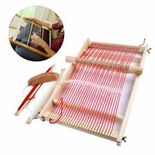 Wooden Toy Educational Traditional Weaving Loom Frame knitting Childrens Gifts
