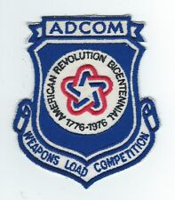 1976 AEROSPACE DEFENSE COMMAND  WEAPONS LOAD COMPETITION  patch
