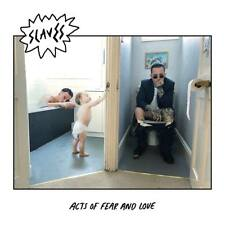 """Slaves - Acts Of Fear And Love (NEW 12"""" VINYL LP) (Preorder Out 17th August)"""