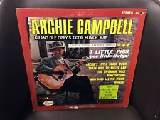 Archie Campbell Grand Ole Opry's Good Humor Man LP Starday VG Top Hit: Women