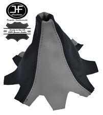 grau Schwarz Leder Schaltmanschette passen VW T5 MULTIVAN CARAVELLE Schaltsack