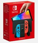NINTENDO SWITCH CONSOLE 64GB OLED MODEL NEON RED & BLUE NEW  RELEASE 08 10 21