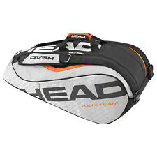 Brand New Head TOUR TEAM 9R SUPERCOMBI Tennis Racquet Bag Silver/Black 2016
