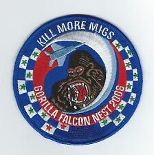 """58th FIGHTER SQUADRON """"GORILLA FALCON NEST 2006"""" patch"""