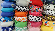 You Pick Set of 12 THX Cloth Diaper All in one (AIO) fit Newborn - 13 lbs.