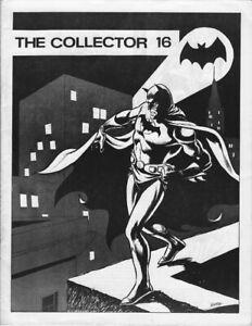 The Collector 16  fanzine
