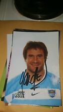 Rugby Player Marcello Boschs Hand Signed Autograph