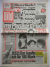 Immagine giornale 29.1.1985, Barbara Streisand, Burt Reynolds, NIKE Clark, Uschi vetro