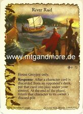 A Game of Thrones LCG - 1x River Raid  #072 - A Song of Silence
