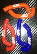 HONDA RUCKUS ZOOMER NPS50 MOTO HOSE COLORED SILICONE RADIATOR HOSES - ORANGE
