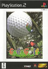 PLAYSTATION 2 GO GO GOLF PS2 GAME