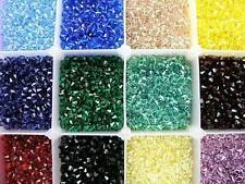 500 PCS GENUINE SWAROVSKI 6MM 5328 / 5301 XILION BICONE CRYSTAL BEADS - YOU PICK