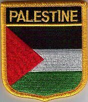 Palestine Palestinian Country Flag Embroidered Patch T7