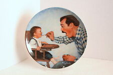 OPEN WIDE Knowles Collector's Plate...Betsy Bradley...A Father's Love Series