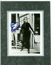 ANNE FRANCIS as HONEY WEST • B&W Photo • with COA •  Double-matted 11x14
