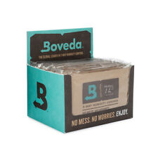 Boveda 72% Rh 2-Way Humidity Control | Size 60 for Every 25 Cigars | 12-Count