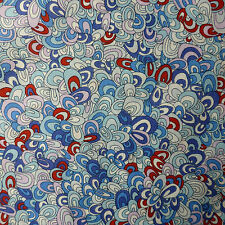 "42 cm x 1.37 m les impressions liberty Tana Lawn ""Arc-en-rave"" robe de coton artisanat tissu"
