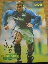 Década de 1990 autógrafo: Everton-Rama, Micael [imagen revista firmada a mano, aproximadamente S