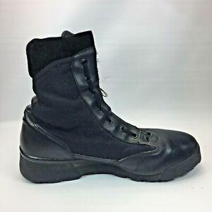 Magnum Hi-Tec Boots Black 11.5 Wide Used By Law Enforcement