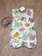 Next Baby Girl Romper 3-6 months