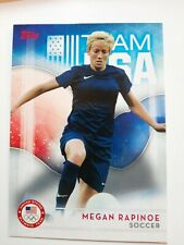 MEGAN RAPINOE ROOKIE CARD Women's Soccer TEAM USA 2016 Topps RC Olympic Team