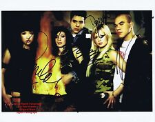 HEAR' SAY   Pop Group  FULL 5 x  BAND MEMBERS  HAND SIGNED Colour Photo