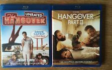 Lot of 2 HANGOVER -Ray BluDVD's Part I & II GREAT DEAL!! Wolfpack No Digital 2