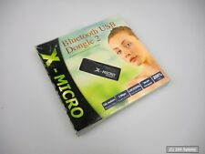 X-Micro Bluetooth USB dongle class 1, 100m, Reino 1.2