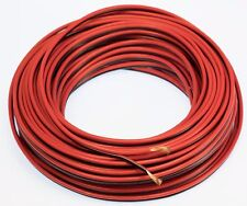 25 Ft 14 Gauge Speaker Wire Car Home Audio 25' Black & Red Zip Power Ground Wire