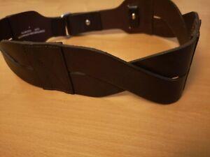 Comptoir Des Cotonniers Leather Wide Belt SMALL W28