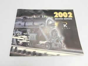 K LINE Catalog Magazine 2002 Second edition ELECTRIC TRAINS free postage