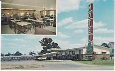 """Lebanon Mo """"The Clover Leaf Motel"""" Route 66 Postcard Missouri *Free Us Ship"""