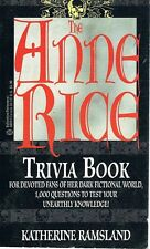 The Anne Rice Trivia Book by Rice Anne - Book - Paperback - Fiction - Horror