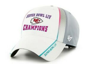 Kansas City Chiefs NFL Superbowl LIV Champions MVP Adjustable Cap Hat nwt new