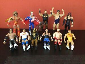 Wwe / Wwf Mega Rare Elite / Basic Wrestling Figure Joblot Must See Wow!!