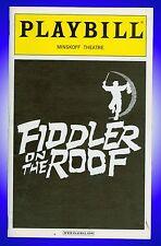 Playbill + Fiddler on the Roof + Harvey Fierstein , Rosie O'Donnell , Nancy Opel