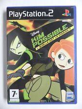 COMPLET jeu DISNEY KIM POSSIBLE sur playstation 2 PS2 en francais juego gioco