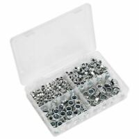 Sealey Nylon Lock Nut Assortment 300pc M6-M12 DIN 982 Metric AB032LN