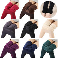 Women's Winter Warm Thermal Thick Leggings Plus Size Super Elastic High Waist