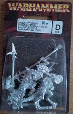 Classic metal Warhammer Sigmar Lizardmen - Saurus Temple Guard BNIB OOP