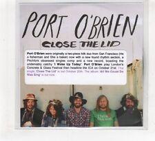 (HF413) Port O'Brien, Close The Lid - 2008 DJ CD