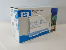 NEW Genuine OEM HP C9721A Cyan Toner Cartridge For LaserJet 4600 4610 4650