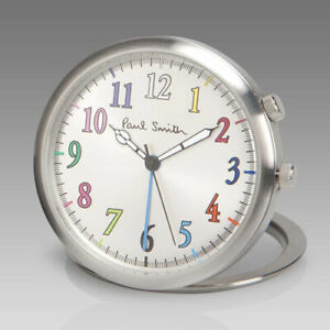 Paul Smith 'THE WORLD IS YOUR OYSTER' TRAVEL ALARM CLOCK BNIB FROM 2011
