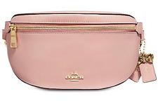 🌺🌹COACH Selena Gomez Belt Bag Pink/Gold