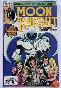 MOON KNIGHT #1 - 1981 - 1ST IN SOLO TITLE! - VFN (8.0 ) PENCE COPY!!
